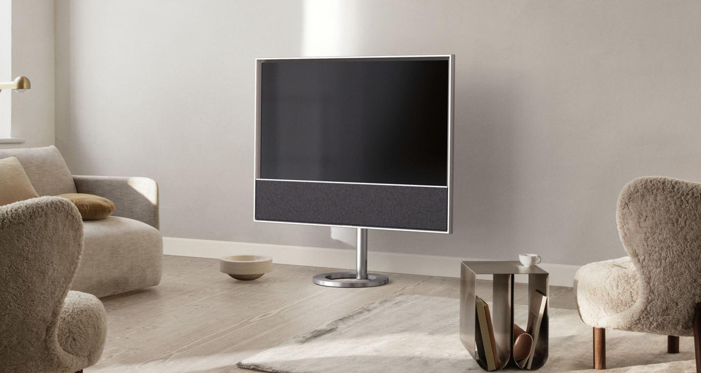 Téléviseur et système audio design et performant cnario.fr